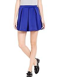 Globus Box Pleat Knit Skirt