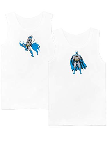 Batman Canottiere per Ragazzi Confezione da 2 DC Comics