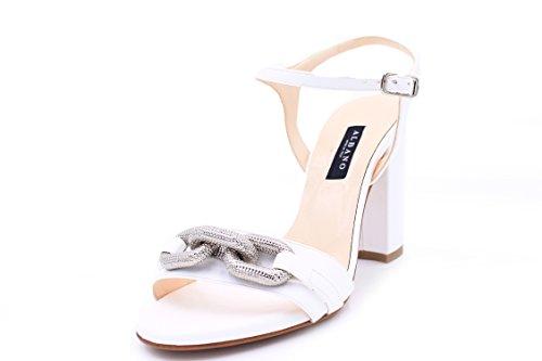 ALBANO Sandalo da Donna ART. 5686 Bianco