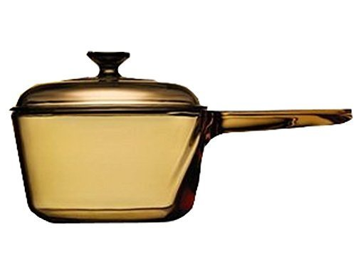 vintage-corning-visions-visionware-15l-amber-sauce-pan-pot-w-lid-by-corning-ware-pyrex-usa