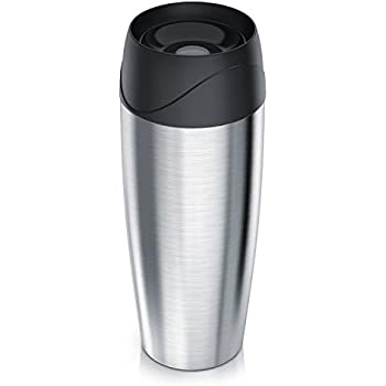 Isolier Kaffee Becher 400ml 18cm Edelstahl Thermos Isolierbecher ThermoPro TC