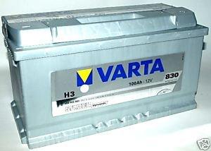 Varta-Batteria per auto di 12V 100Ah H3