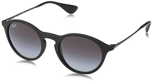 Ray Ban Unisex Sonnenbrille RB4243, (Gestell: schwarz, Gläser: grau verlauf dunkelgrau 622/8G), Medium (Herstellergröße: 49)