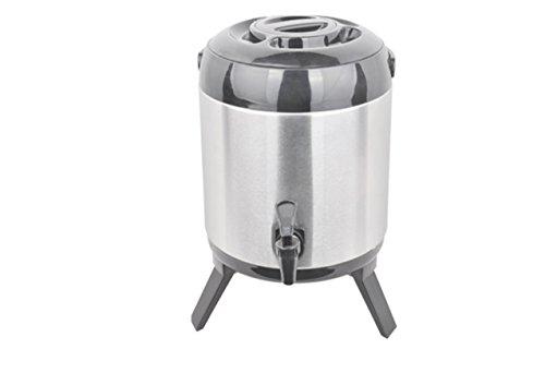 Foto de 9.5l térmica Bebidas de Dispenser dispensador de zumo vino caliente Dispensador de bebidas 9,5l dispensador de agua termo termo térmica tipos de depósito de acero inoxidable 9,5L volumen