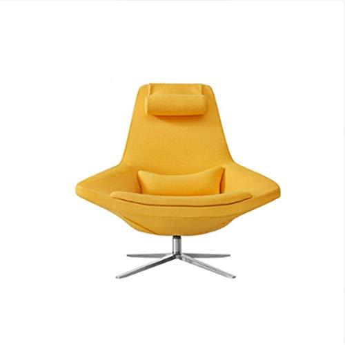 Fabric Single Small Apartment Nordic Sofa Stuhl Freizeit Einfaches Wohnzimmer Hotel Metropolitan Chair -