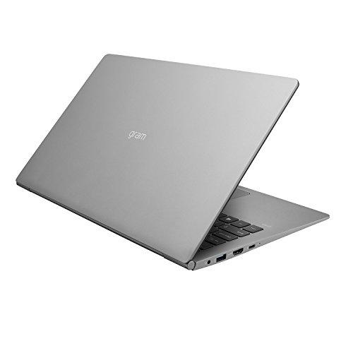 "LG Gram Laptop - 15.6"" Full HD Touchscreen, Intel 8th Gen Core i7, 16GB RAM, 256GB, 18.5 HRs Battery, USB Kind-C, - 15Z990-A.AAS7U1 (2019), Dark Silver Image 8"