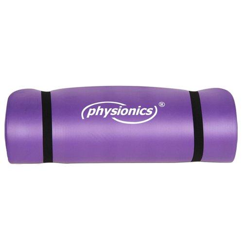 Physionics Tapis De Sport Fitness Yoga Gym En Mousse Antiderapante Paisseur 1 5 Cm Taille Couleur Au Choix