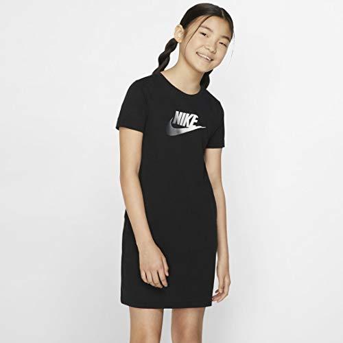 Nike Mädchen Sportswear Kleid, schwarz, L