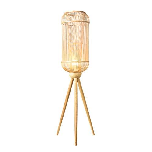 $stehlampe Stehleuchte Original Weaving Bambus Seide Chinesischen Stil Einfache Teestube Wohnzimmer Bambus Lampe -