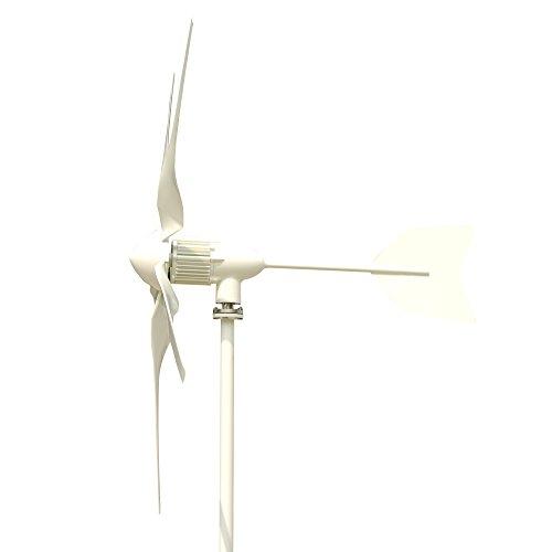 Tumo-Int 600 Watts 5 Schaufel Windkraftanlage mit MPPT Laderegler (24V)