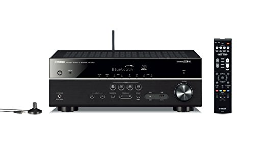 Yamaha RX-V483 MusicCast AV-Receiver schwarz (Aventage Yamaha)
