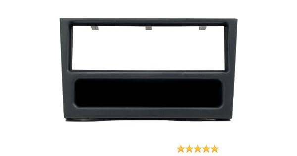Black Autoleads FP-13-03 Car Audio Single DIN Facia Adaptor for Smart Car Roadster