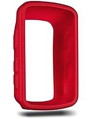 Garmin 010-12190-00 - Funda de silicona para Garmin Edge 520, color rojo