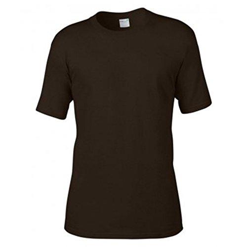 Anvil Herren Modern T-Shirt Schokoladenbraun