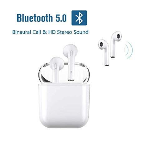 Cuffie senza fili, auricolari bluetooth 5.0 wireless i9-tws in-ear mini sportivo cuffie cordless con scatola di ricarica portatile per android ios