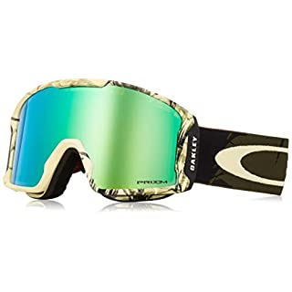 Oakley Herren Schneebrille Line Miner Kazu Kokubo Signature Rokka Army Green Goggle