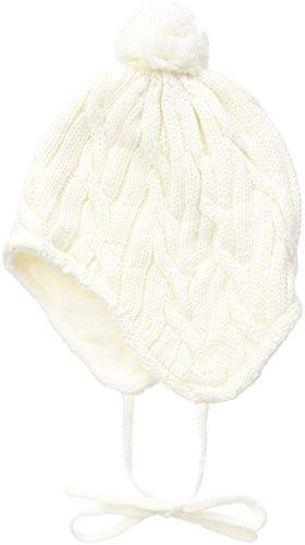 Sterntaler Baby-Mädchen Mütze Strickmütze, Gr. 47 cm, Beige (ecru 903)