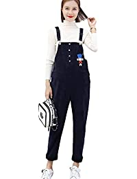 63c9431b55a2 Aden Women s Winter Thick Warm Maternity Overall Jumpsuit Pregnancy Pants  Adjustable Strap