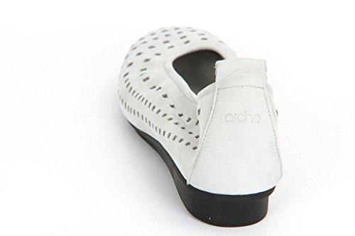 Arche 18u01nikiro7200, Chaussures À Lacets Femme Gris Clair
