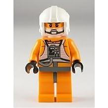 LEGO Star Wars: Zev Senesca (Color Blanco Casco) Minifigura