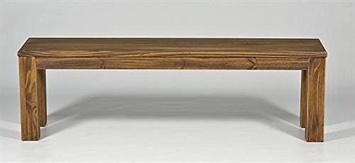 Coussin pour Banc 150 x 38 cm, Couleur chêne patiné Banc en Bois de pin Massif huilé et ciré