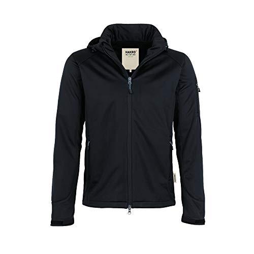 HAKRO Softshell-Jacke Ontario - 848 - schwarz - Größe: L (Jacke Express Herren)