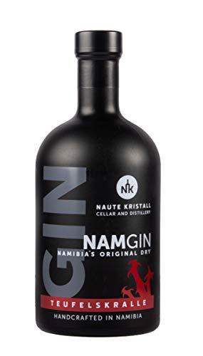 Naute Kristall NamGin, Original Dry Gin aus Namibia, mit afrikanischer Teufelskralle (1 x 0,5 l)
