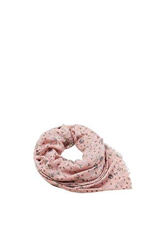 ESPRIT Accessoires Damen 127EA1Q006 Schal, Rosa (Old Pink 680), One size (Herstellergröße: 1SIZE) - Logo-rosa Damen-schal