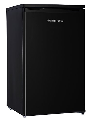 Russell Hobbs RHUCLF2B Black 50 cm Wide Under Counter Freestanding Larder Fridge , Free 2 Year Guarantee
