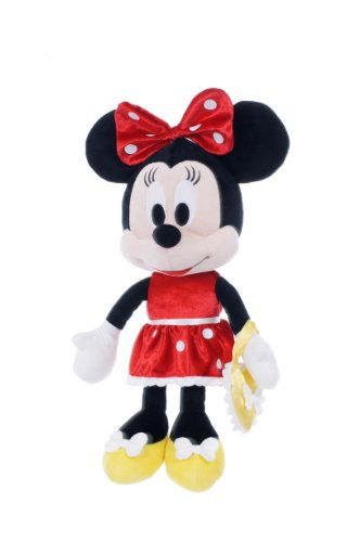 Posh Paws International Minnie Mouse 17-inch Minnie Dress (Red/ Yellow) Plush