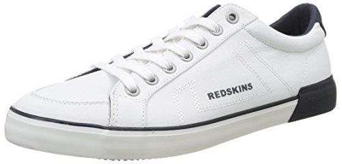 Redskins Sabaro, Baskets Basses Homme Blanc (Blanc Marine)