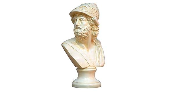 Karo Zeus OLYPISCHER Gott Mythologie Antique Statue Statue de Statue /à la Main