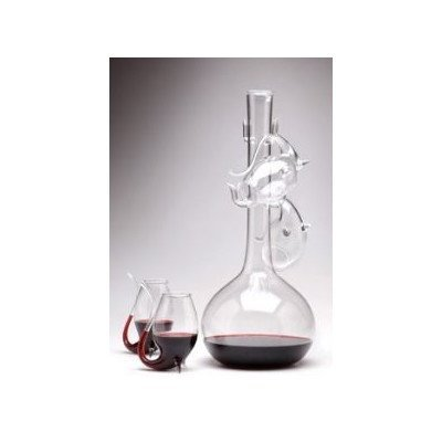 Port 5 Piece Decantus and Sipper Glass Set