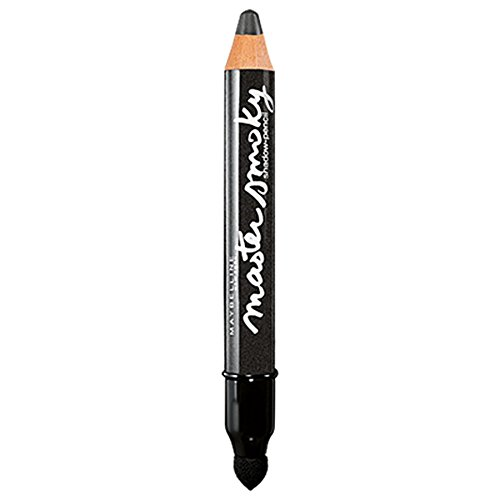 Smoky Shadow Eye (Maybelline New York Lidschatten-Stift Master Smoky Smoky Grey / Eyeshadow Pencil Grau für Smokey Eyes, mit integriertem Smudger, 1 x 1,8 g)
