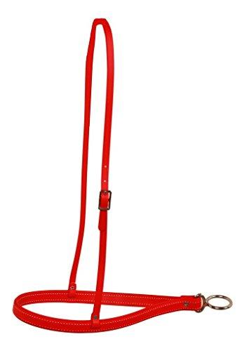 Berlin Leder be900Beta Reithalfter, rot
