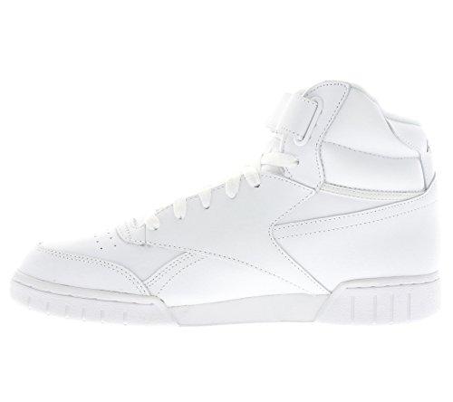 Reebok Ex-O-Fit Hi, Baskets Adulte Mixte Weiß