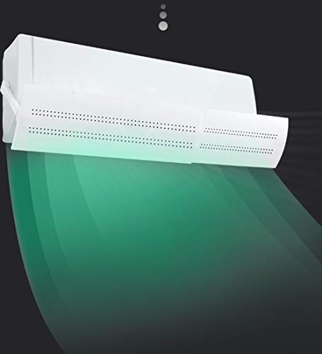 Deflettore del deflettore del Vento del condizionatore d\'Aria,Deflettore Regolabile di Calore e d\'Aria (Q)