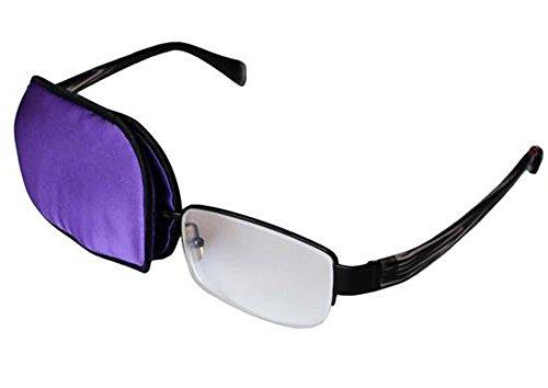 Purple Eye Eye Patch pour les verres Treat Lazy Eye