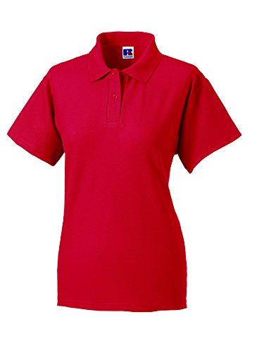 Jerzees -  Polo  - Polo  - Maniche corte - Donna Rosso (Classic red)