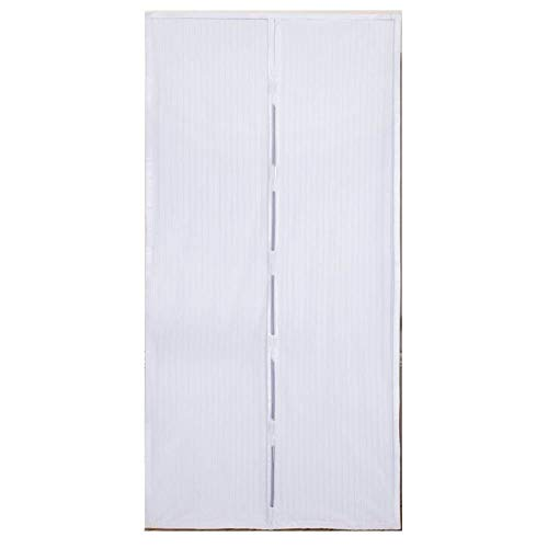 Tenda zanzariera magnetica standard, colore bianca 140x240 euronovità en-23810