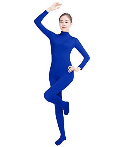 NiSeng Erwachsener und Kind Ganzkörperanzug Anzug Kostüm Ganzkörperanzug Halloween Kostüme Saphir XS