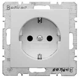 Berker Schuko-Steckdose pws 47431909 mit Steckklemmen B.1;B.3;B.7;S.1 Steckdose 4011334224310 von Berker - Lampenhans.de