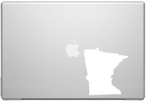 Ivybee Decals Minnesota North Star State Gopher Pride Aufkleber Aufkleber-Weiß 12,7cm Vinyl Aufkleber für Autos, MacBooks und Andere Laptops