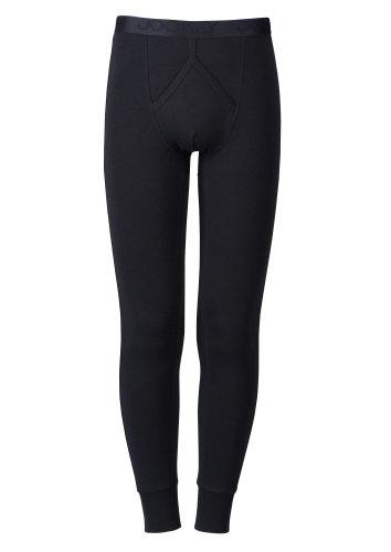 Jockey® Herren, Modern Thermal Y-Front® Long John, 15500418, schwarz, Größe 2XL (Lange Jockey Unterhosen)