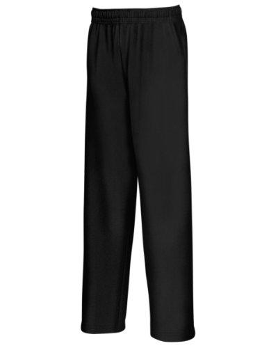 FOTL léger Pantalon de jogging pour enfant Noir - Noir
