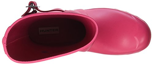 Hunter Wellington Boots, Stivali di Gomma Unisex Adulto Rosa (Pink Rbp)