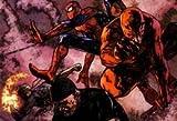 Comics Spiderman Iron Fist Dare Marvel Comics Luke Cage Mouse Pad, Mousepad (25,9x 21,1x 0,3cm)