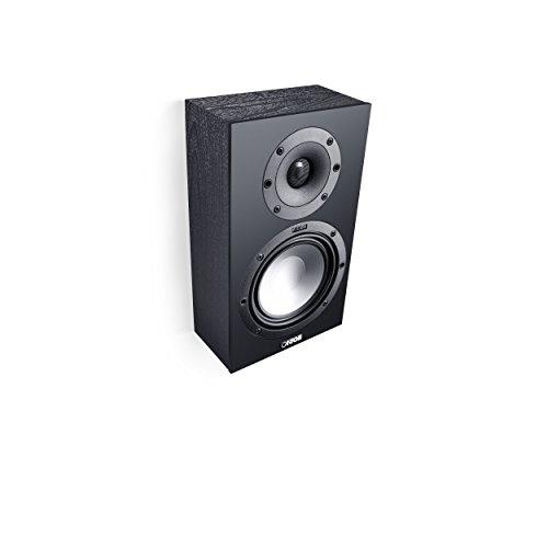 Canton GLE 416.260W Black Loudspeaker–Loudspeakers (2-Way, Wired, 60W, 45–40000Hz, 8Ohm, Black)