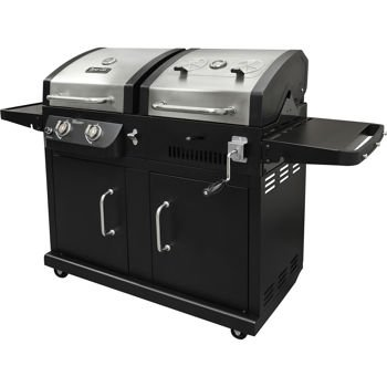 dynaglo-dual-fuel-gas-and-charcoal-bbq-grill-24000-btu-gas-and-charcoal-bbq-grill-with-adjustable-ch