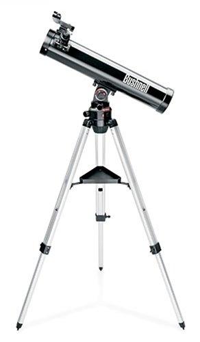 Bushnell Voyager with Skytour - Telescopio (70 cm, 7,6 cm) Negro, Plata